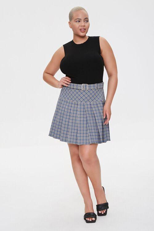 Plus Size Sweater-Knit Tank Top, image 4
