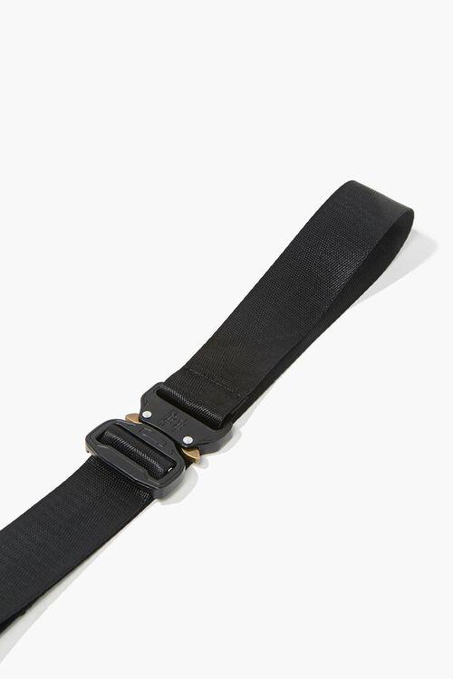 Men Grosgrain Metal-Buckle Belt, image 1