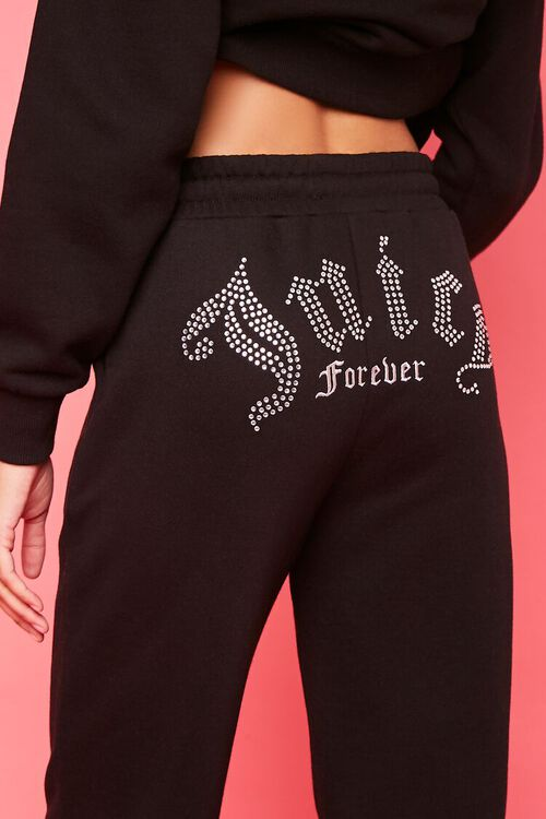 Juicy Couture Rhinestone Fleece Joggers, image 1