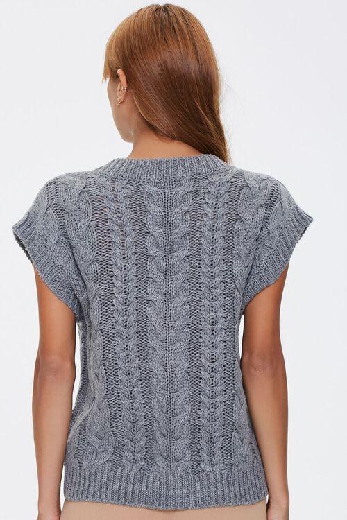 Pointelle Knit Sweater Vest, image 3