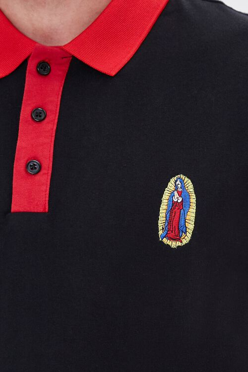 Guadalupe Embroidered Graphic Polo, image 5