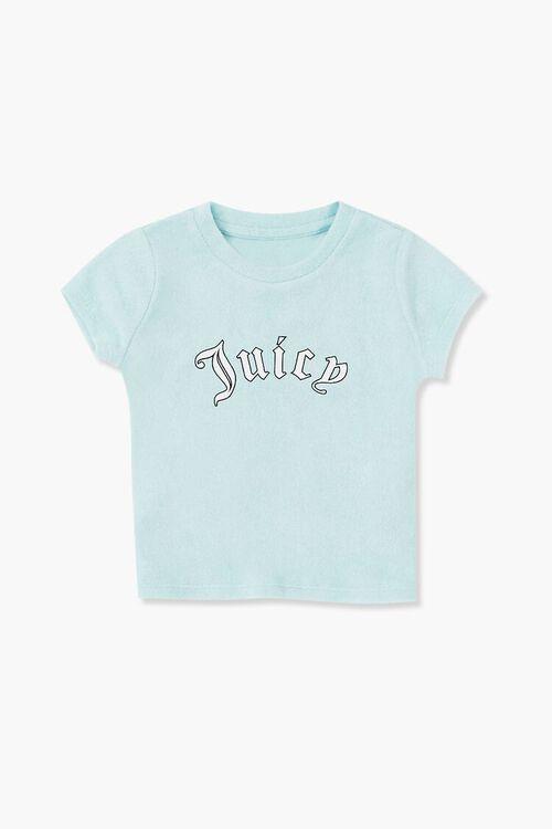 Girls Juicy Graphic Tee (Kids), image 3