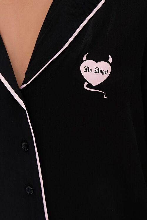 No Angel Graphic Pajama Set, image 4