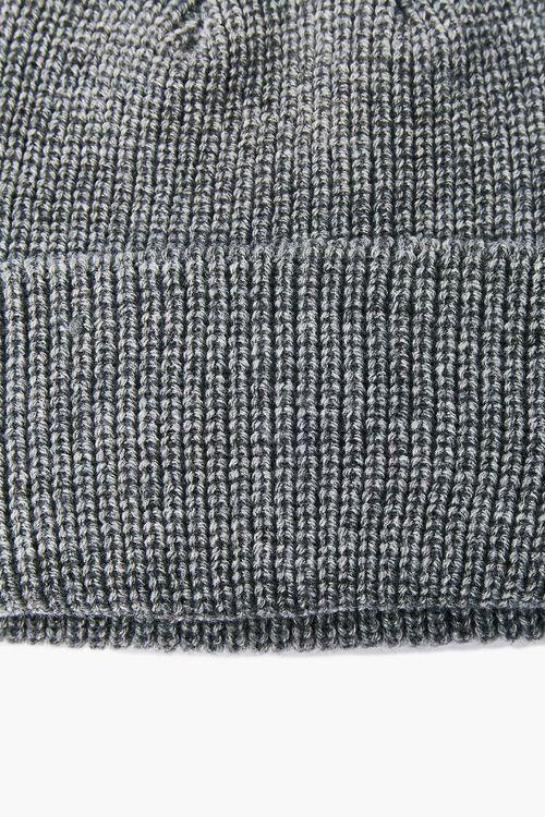 Girls Ribbed Knit Beanie (Kids), image 2
