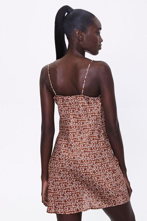 Floral Cowl-Neck Dress, image 3