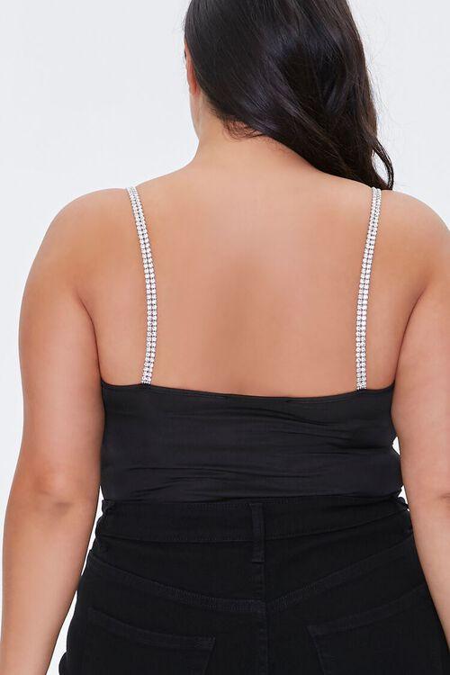 Plus Size Rhinestone Bodysuit, image 4