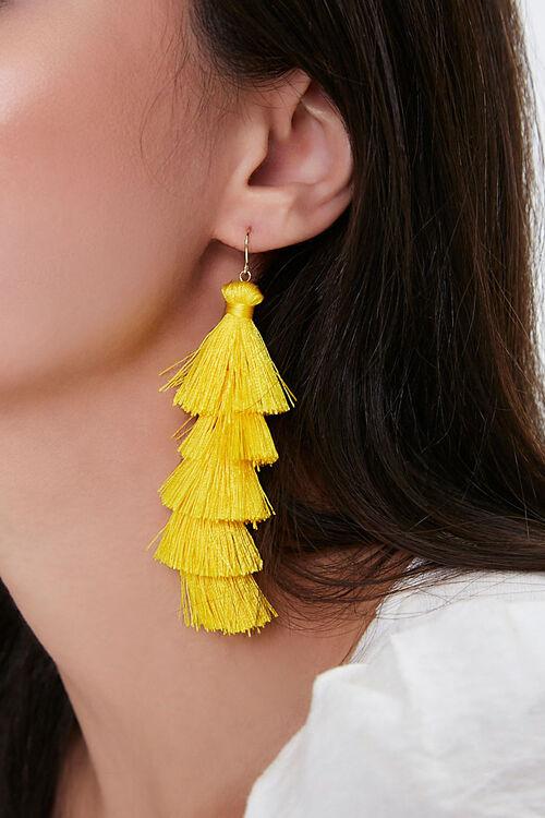 Tassel Drop Earrings, image 1