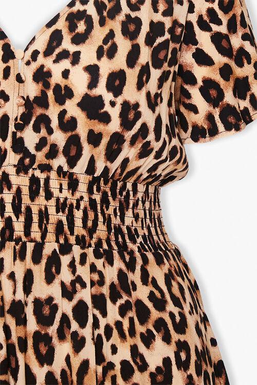 Plus Size Leopard Print Dress, image 3