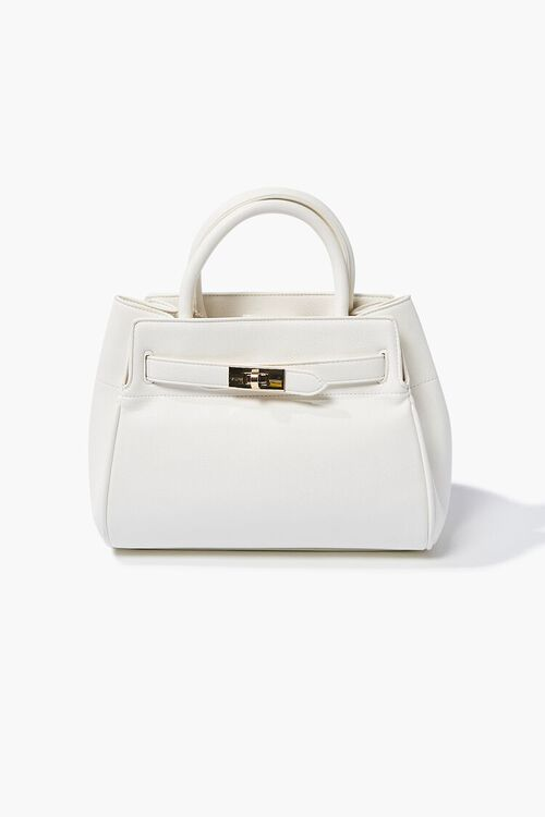 Forever 21 Faux Leather Pouch Satchel