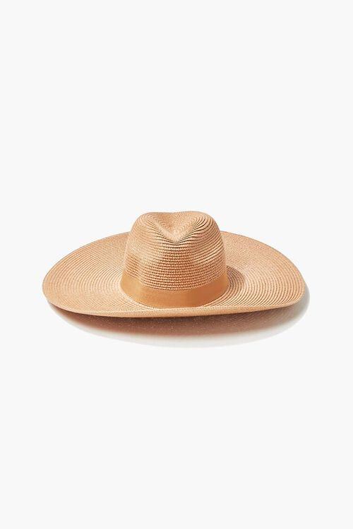 Faux Straw Panama Hat, image 2
