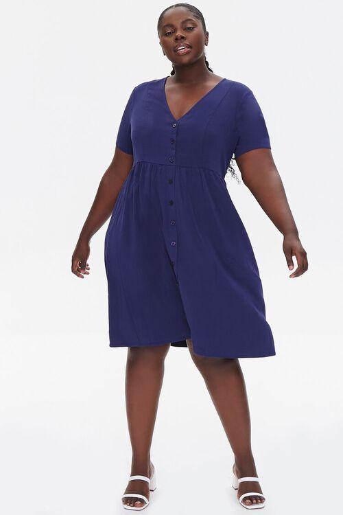 Plus Size Fit & Flare Dress, image 4
