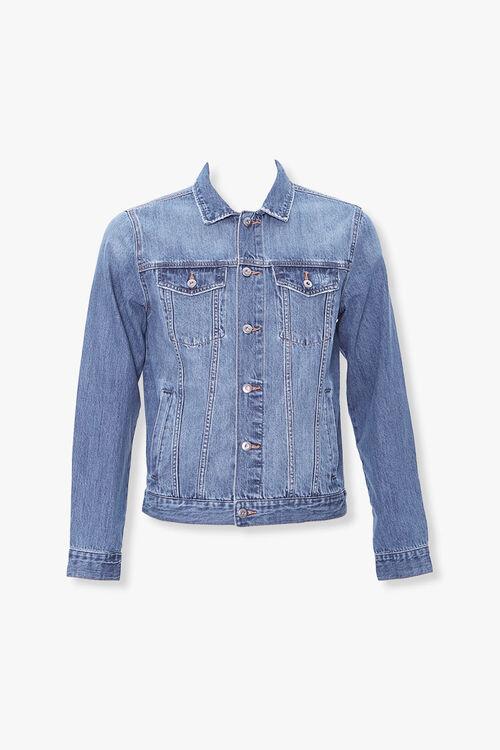 Button-Down Denim Jacket, image 1