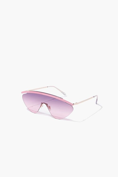 Gradient Metal Sunglasses, image 2