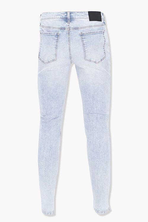 Floral Print Skinny Jeans, image 3