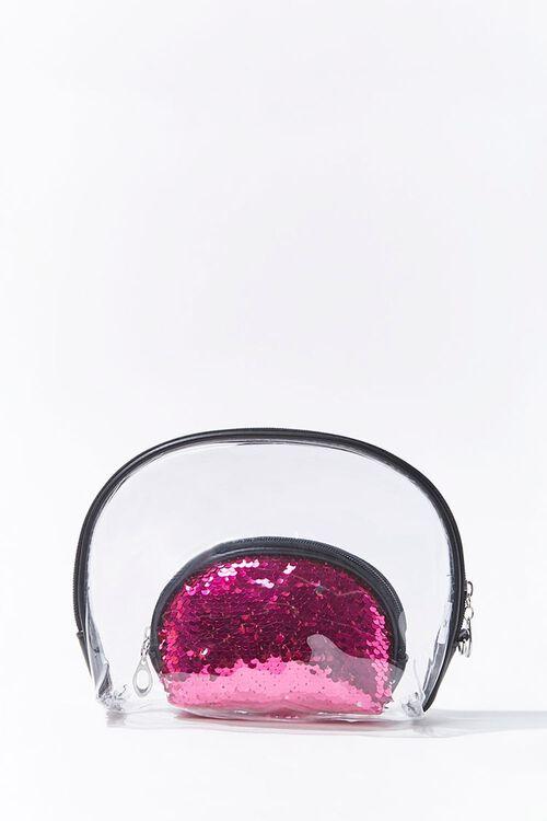 Transparent & Sequin Pouch, image 1