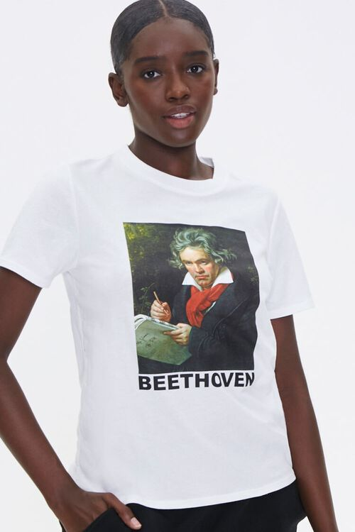 Organically Grown Cotton Beethoven Tee, image 1
