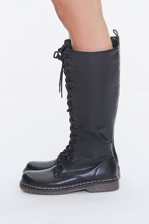 Lace-Up Combat Boots, image 2