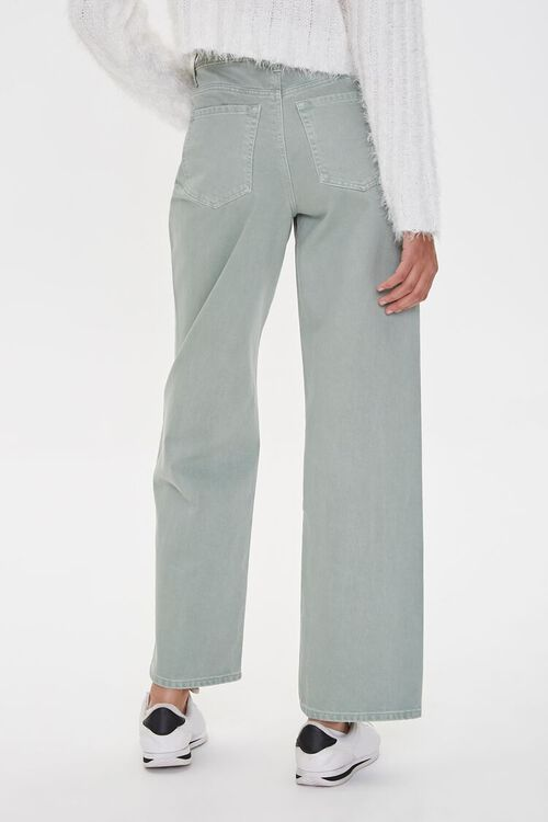 High-Rise Straight Jeans, image 4