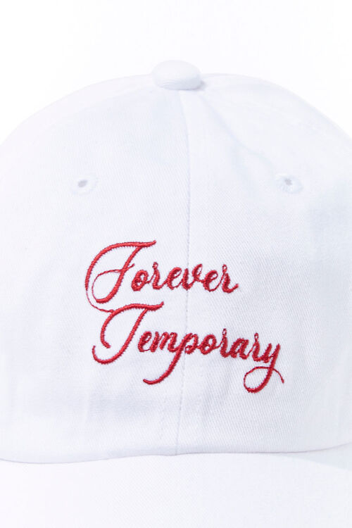 Forever Temporary Graphic Dad Cap, image 4