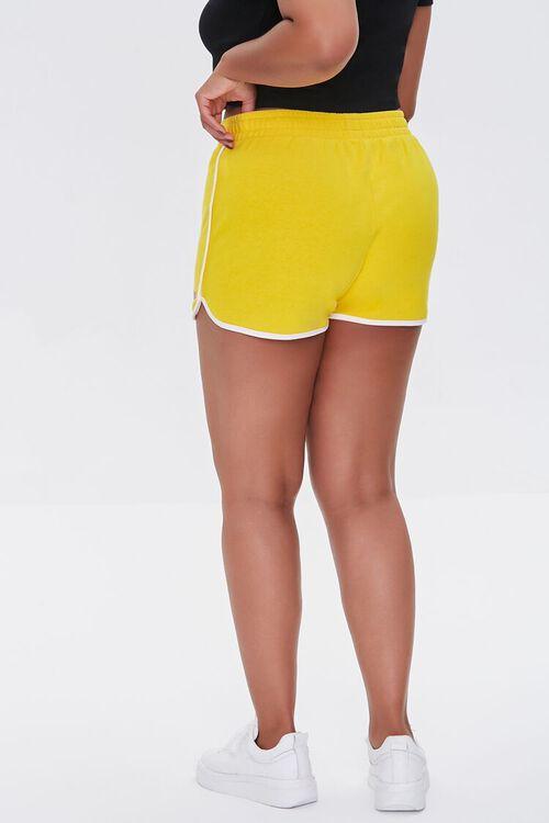 Plus Size Moxi Skates Ringer Shorts, image 4
