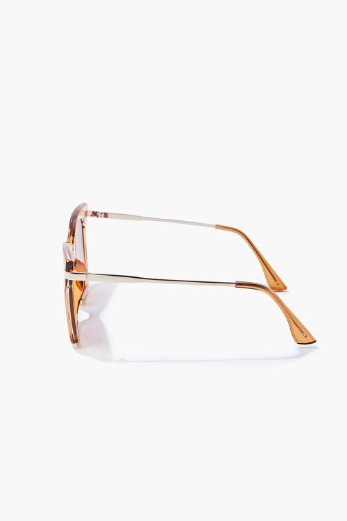 Semi-Transparent Ombre Square Sunglasses, image 3
