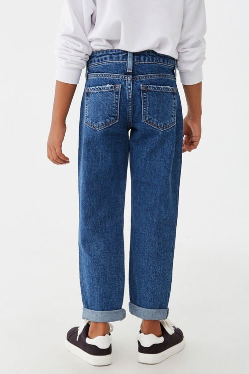 Girls Distressed Jeans (Kids), image 4