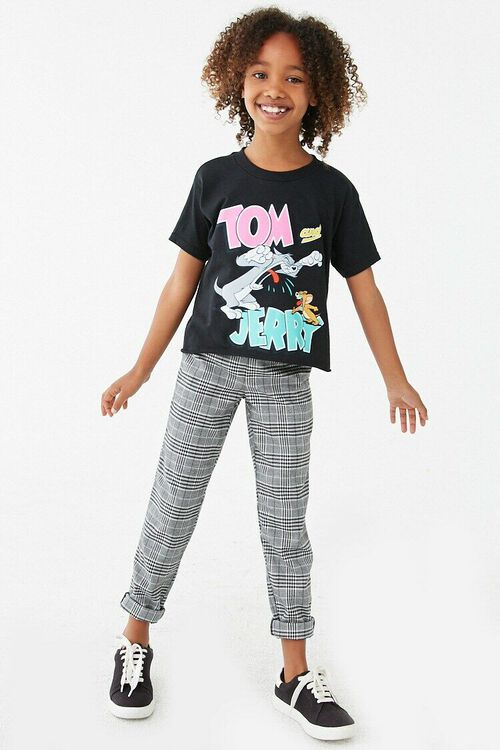 Girls Tom and Jerry Graphic Tee (Kids), image 4
