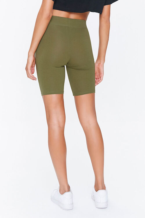 Cotton-Blend Biker Shorts, image 3