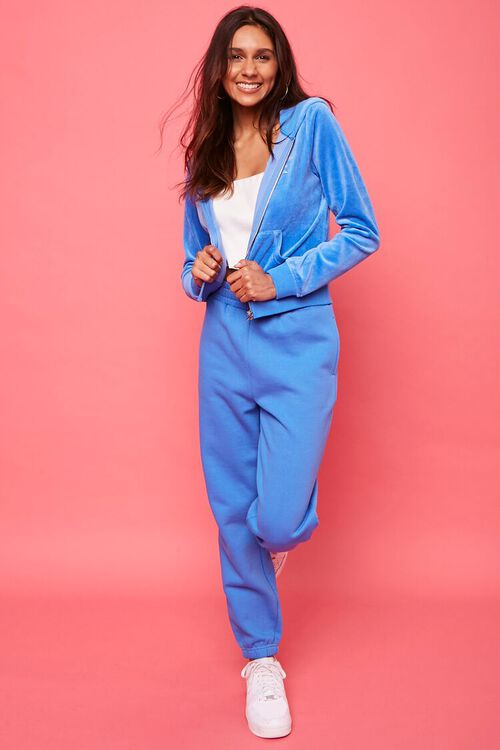 Juicy Couture Velour Zip-Up Jacket