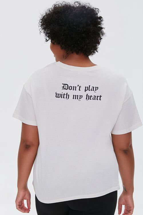 Plus Size Jack of Hearts Graphic Tee, image 3