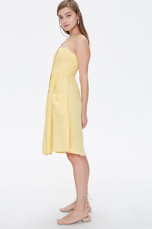 Button-Front Cami Dress, image 2