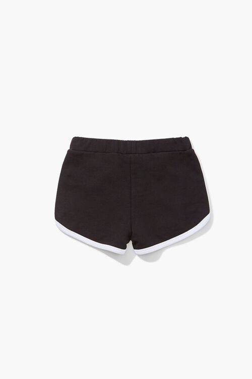 Girls Contrast-Trim Dolphin Shorts (Kids), image 2