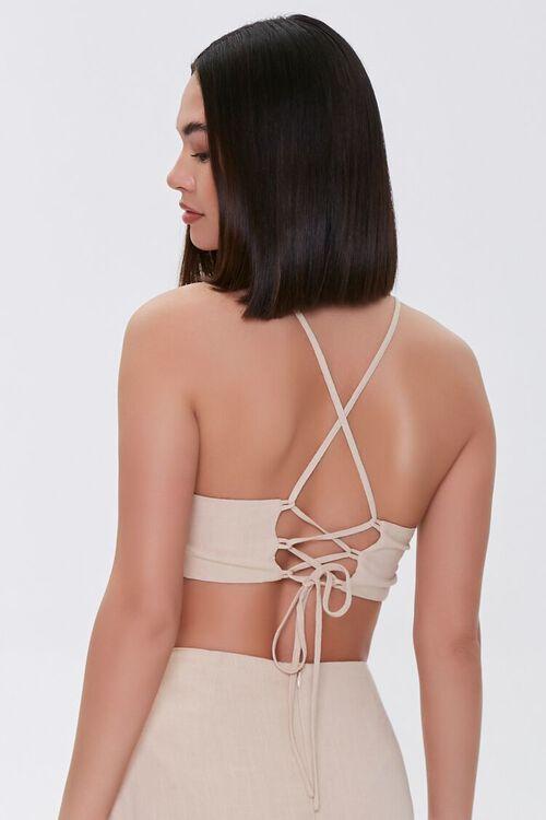 Lace-Back Cropped Cami, image 3