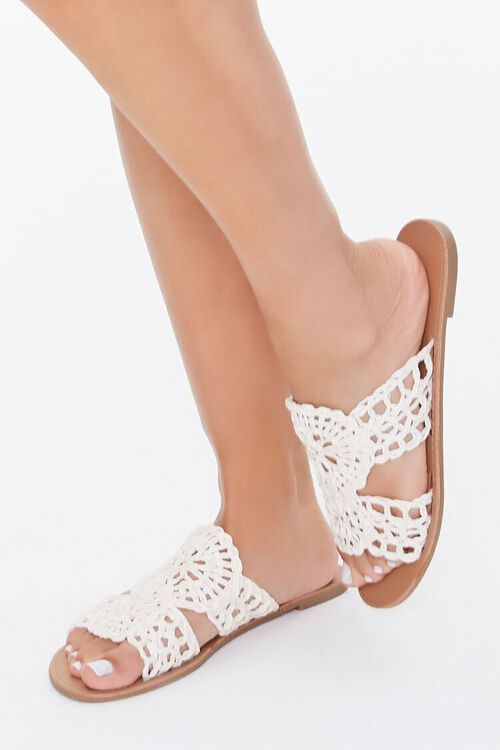 Crochet Flat Sandals, image 1