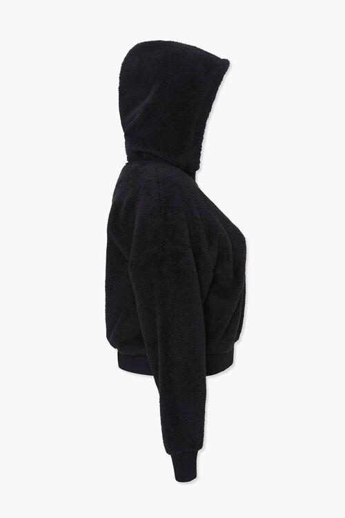 Plus Size Plush Zip-Up Hoodie, image 2