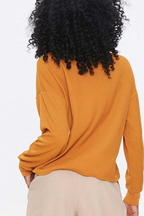 CAMEL Drop-Sleeve Top, image 3