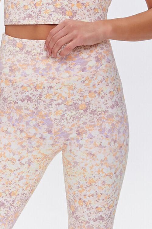 Active Floral Print Leggings, image 5