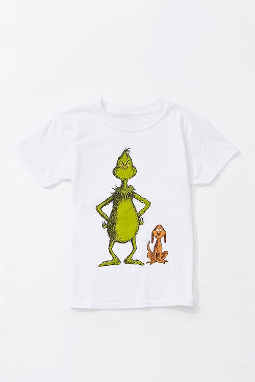 Girls The Grinch Graphic Tee (Kids), image 1