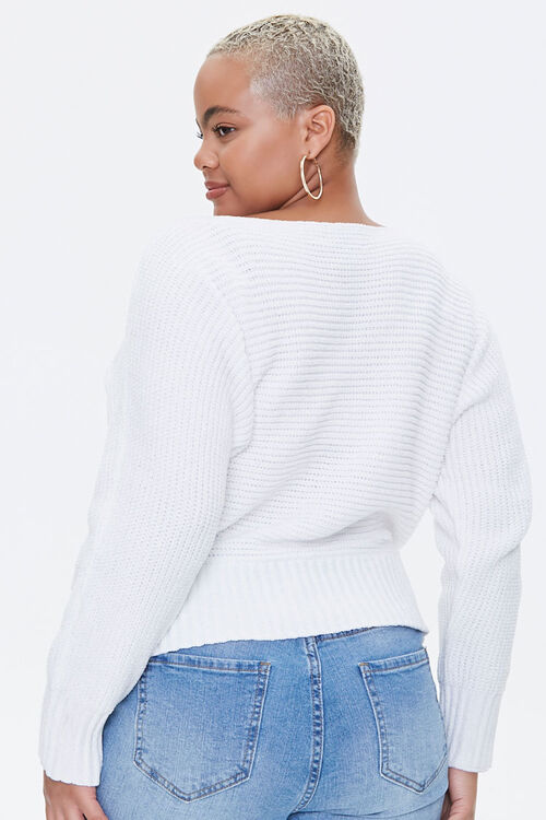 Plus Size Chenille Sweater, image 3