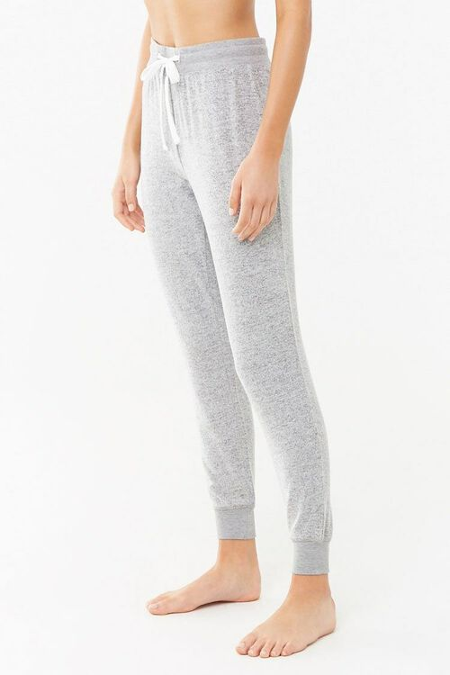 Marled Knit Joggers, image 3