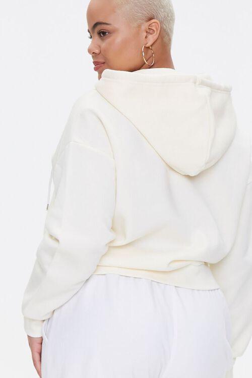 Plus Size Fleece Zip-Up Hoodie, image 3