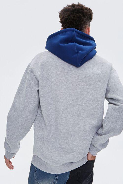 Colorblock Fleece Hoodie, image 4
