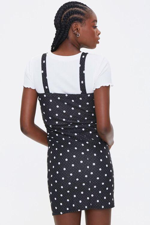 Polka Dot Pinafore Dress, image 3