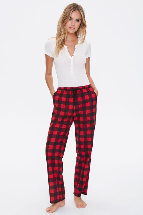 Plaid Pajama Pants, image 5