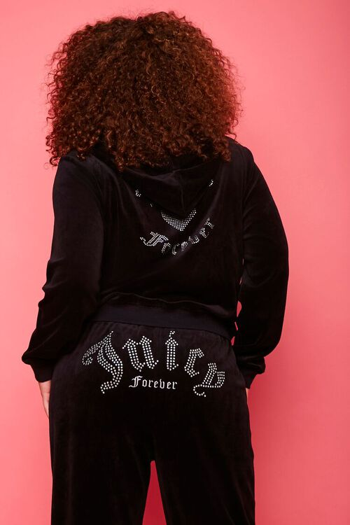 Plus Size Juicy Couture Velour Zip-Up Jacket, image 3