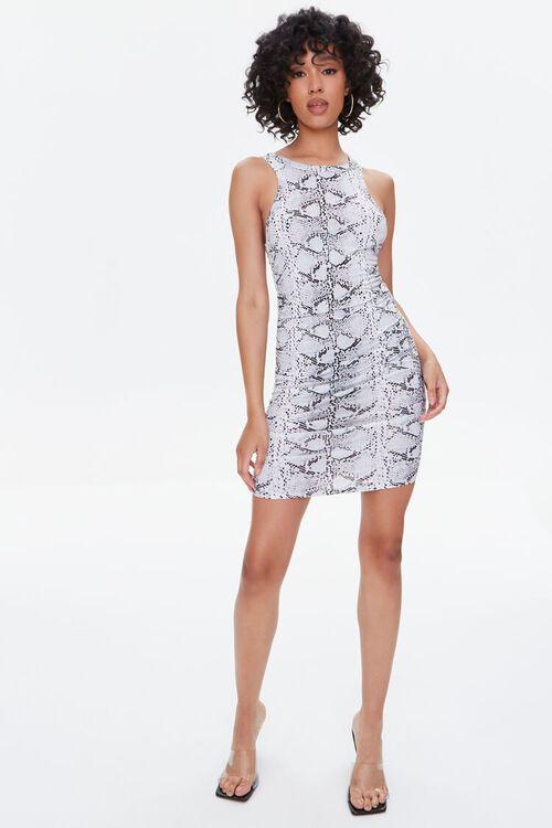 Snake Print Mini Dress, image 5