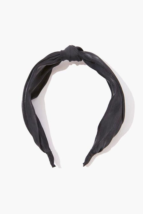 Knotted Satin Headband, image 2