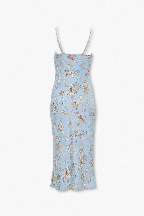 Paisley Print Slip Dress, image 3