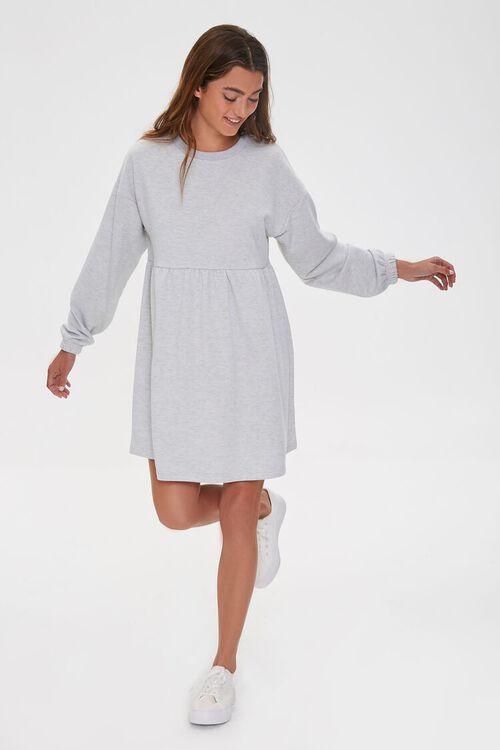 Fleece Mini Dress, image 1