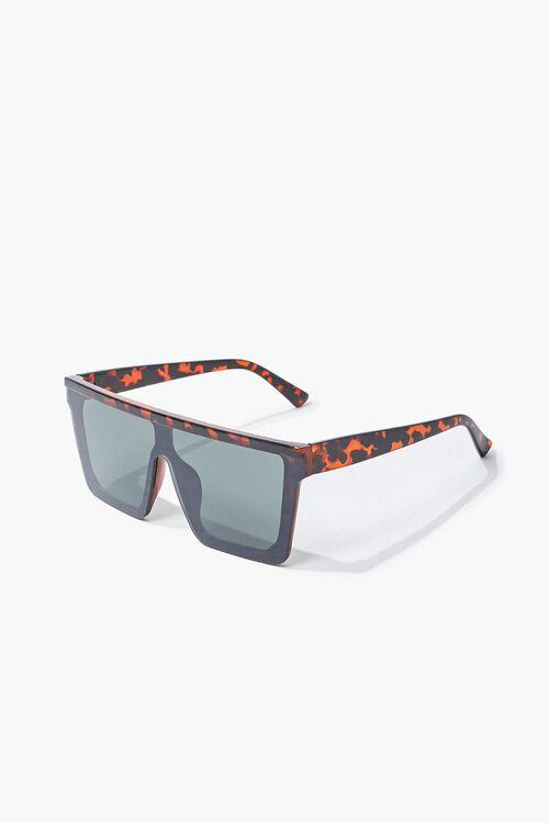 Tortoiseshell Shield Sunglasses, image 2